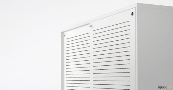 Spaceist-XL-white-sliding-door-acoustic-cabinet
