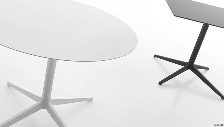 Round + Square Table