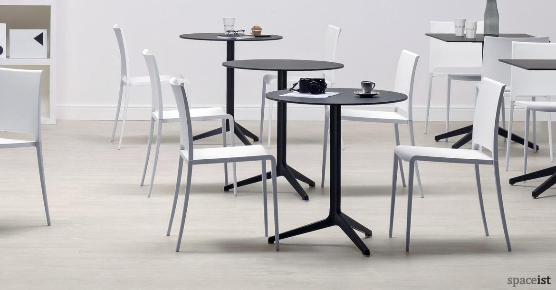 Ypsilon Folding Cafe Table White Spaceist