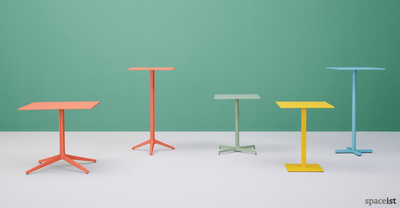 Bar Furniture Ypsilon High Round Tables