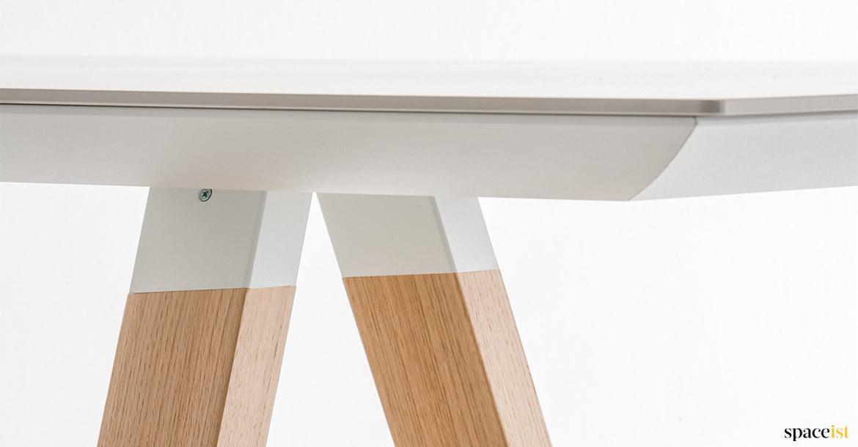 Ark Meeting Tables Solid Oak Legs Spaceist London