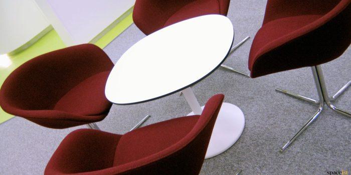 Bak of Tokyo white table