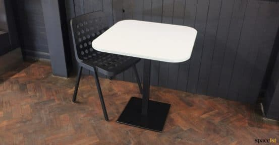 Light blue edge table