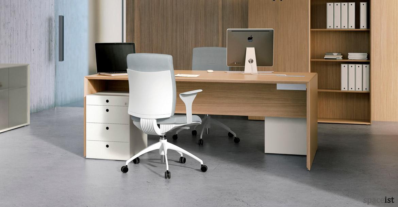 Office Desks Forty5 Oak Desk