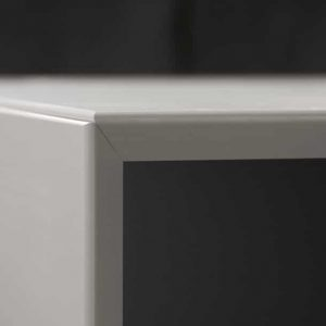Forty5 white desk close-up