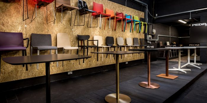 Spaceist office + cafe furniture showroom london