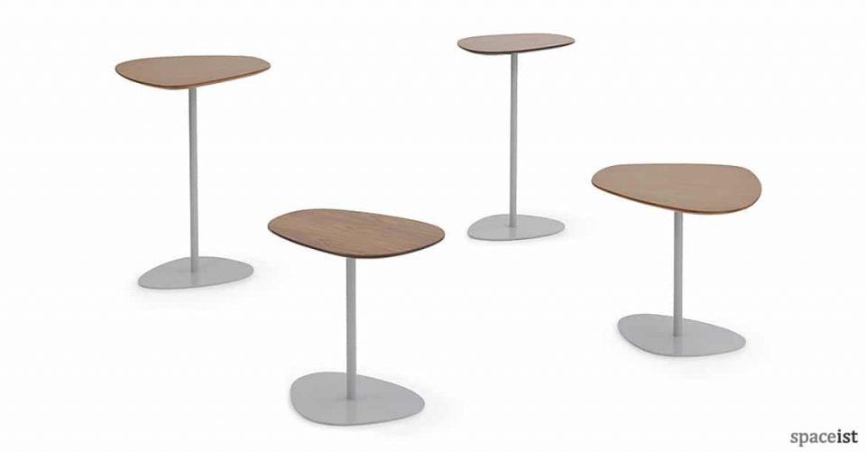 Pebble stlye office reception table