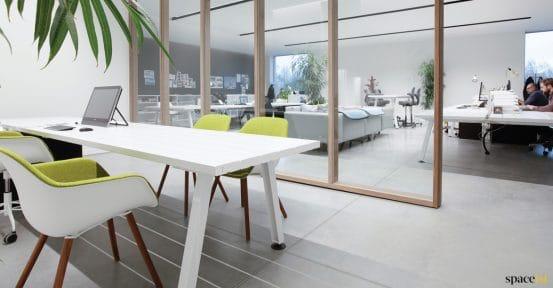 Marina white table