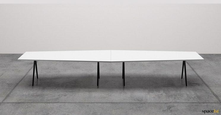Diamond shaped table