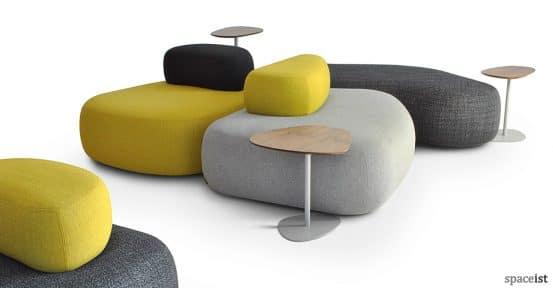 Yellow Pebble office sofa
