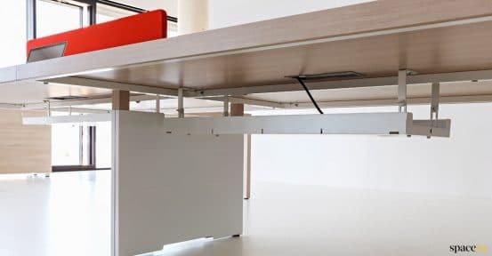 Prism desk cable management