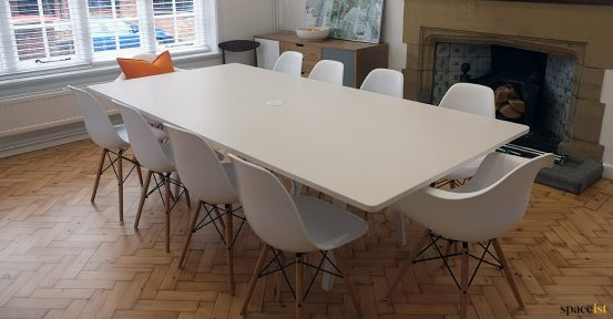 Meeting room table to seat 10 people