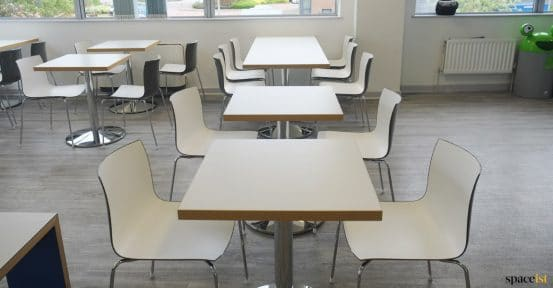 Breakout cafe tables