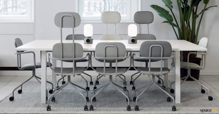 School high back meeting chair