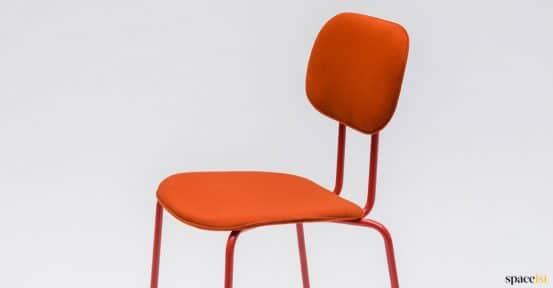 Orange meeting chair