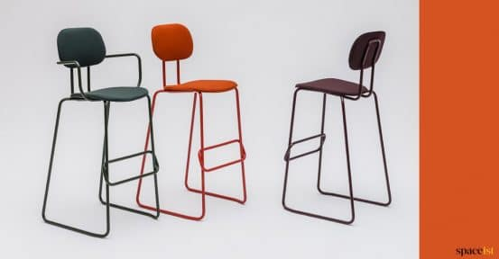 Bar stool collection in colours