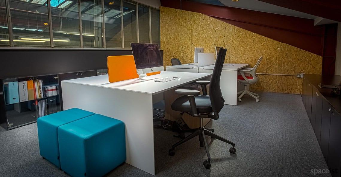 Spaceist showroom office desks