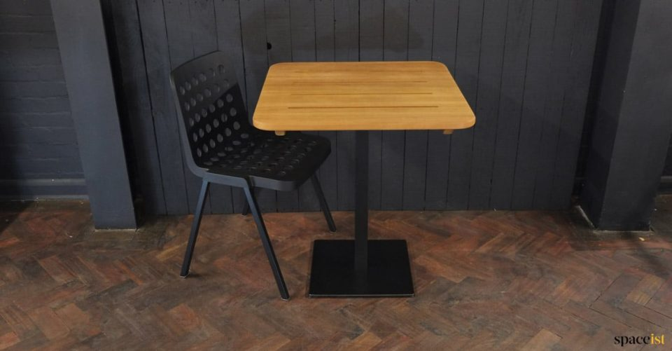solid wood outdoor table designer