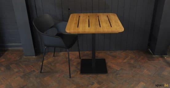 Solid wood teak colour top