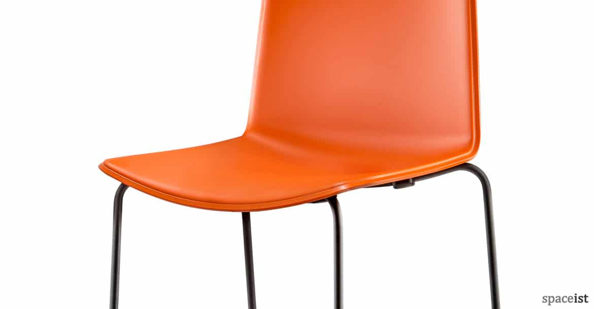 Colourful Bar Stools Weet Stool Orange