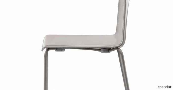 Weet cafe chair with glossy back