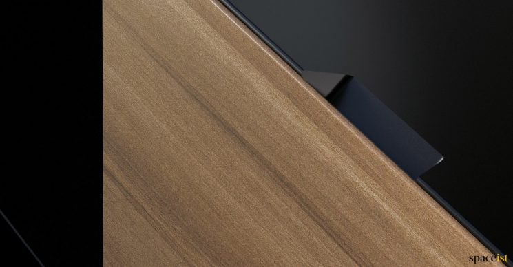 Woods drawer closeup