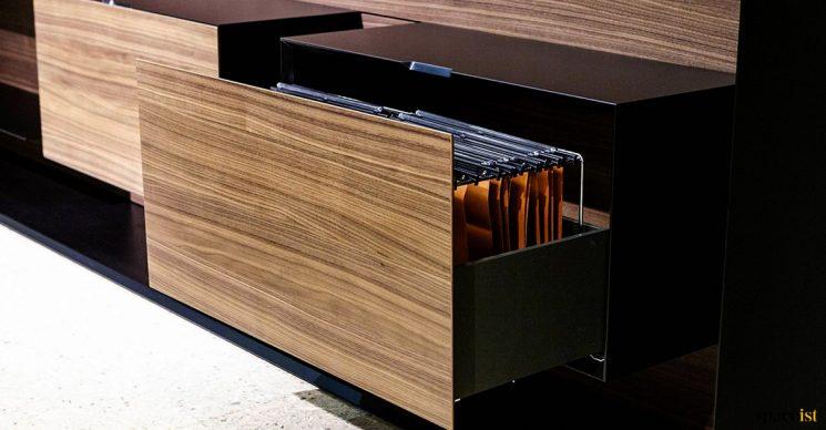 Executive filing drawer