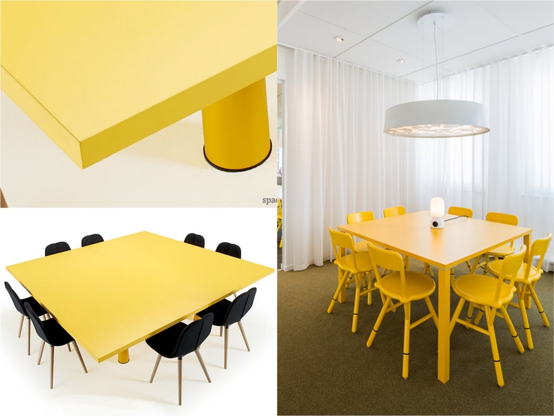 Spaceist xtra squaretable meeting table options blogpot