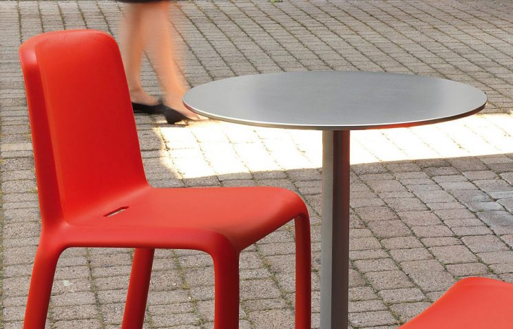 Stainless Folding Cafe Table