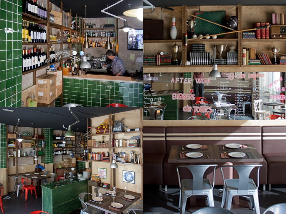 Stanford Gourmet Burger Place Barcelona Spain