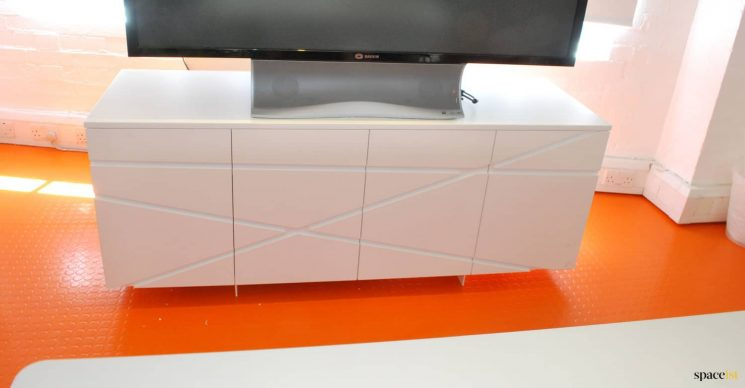 Architectual meeting room cabinet