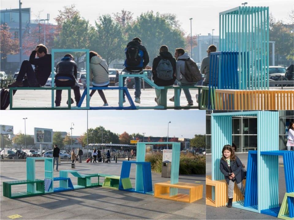 Street furniture by Izabela Boloz Spaceist blogpost