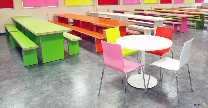 School cafeteria furniture
