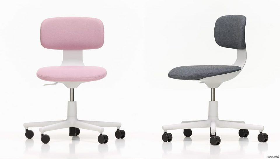 Swivel Meeting Chair in Pink