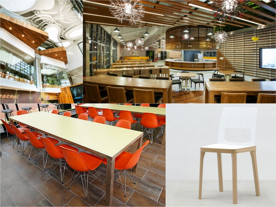 Tencent office canteen Spaceist blogpost