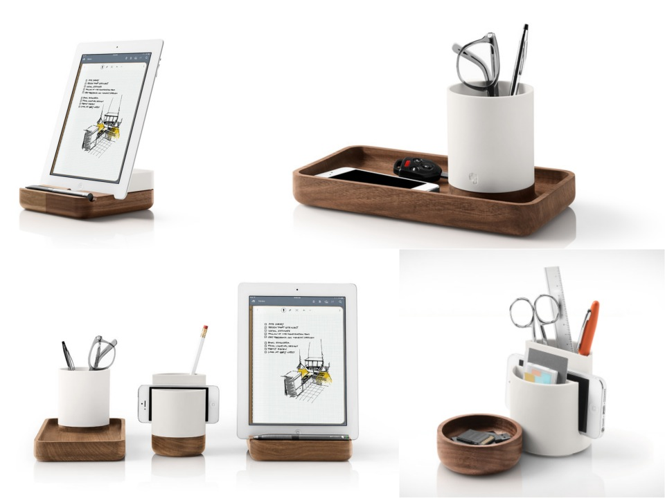 The Pfeiffer Collection desktop accessories