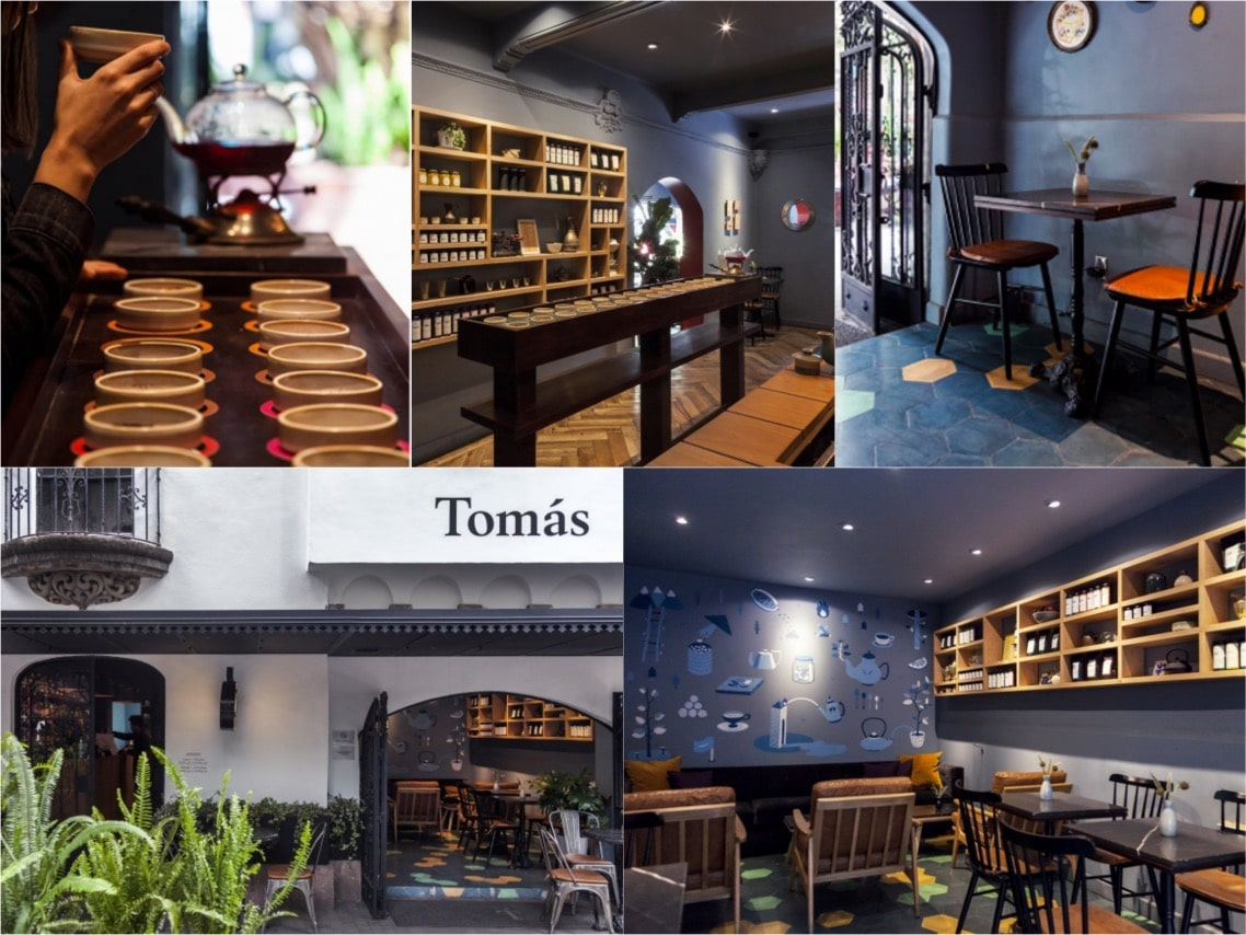 Tomas Tea House Mexico City spaceist blogpost