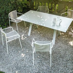 Outdoor Chair with Armrests