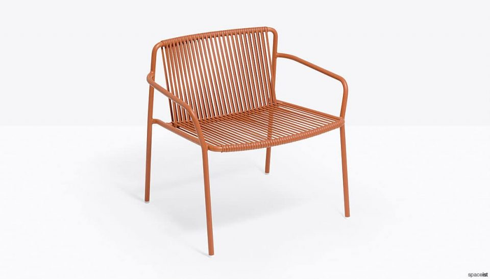 Orange Outdoor Chair