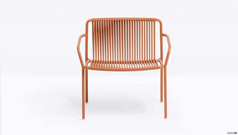 Orange Outdoor Lounge Chair
