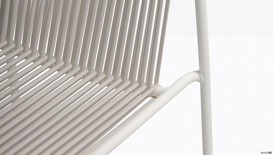 White Chair Closeup