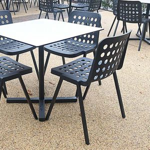Types of cafe tables