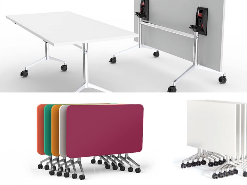 UR folding table stacking Spaceist blogpost
