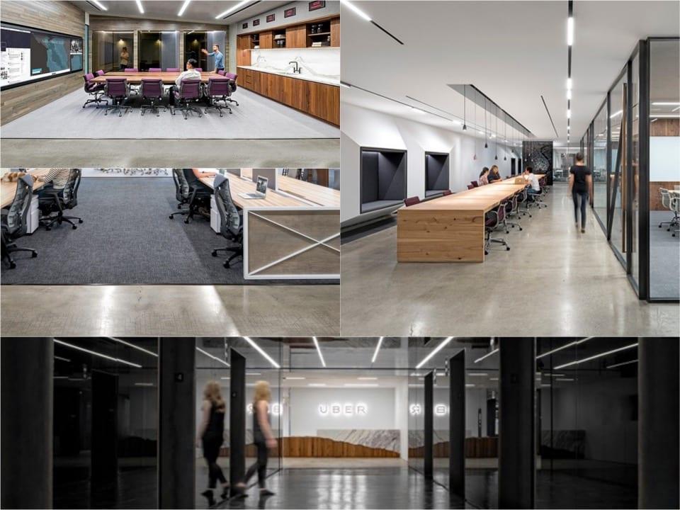 Uber HQ SanFran concrete