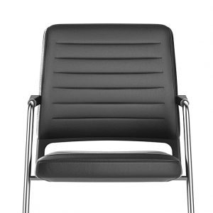 Panelled Leather Chair