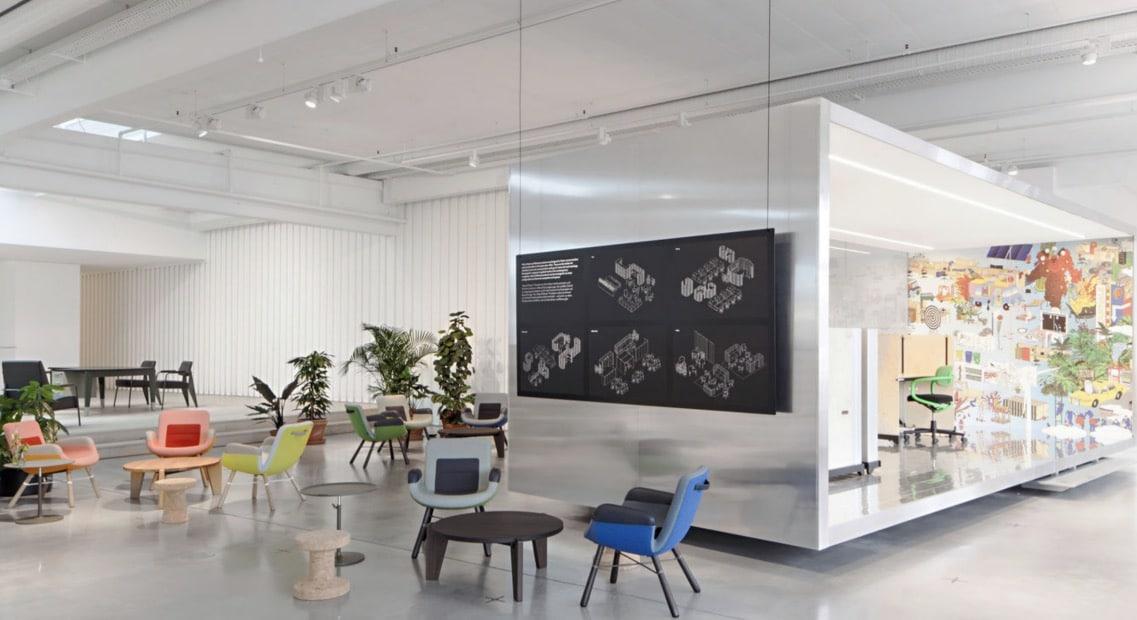 Vitra workplace showroom Spaceist blog