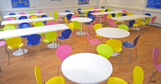 Large school food area