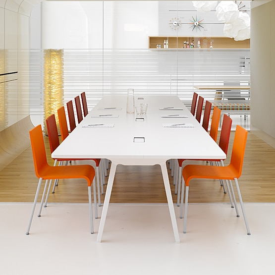 What about meeting room tables for larger groups?