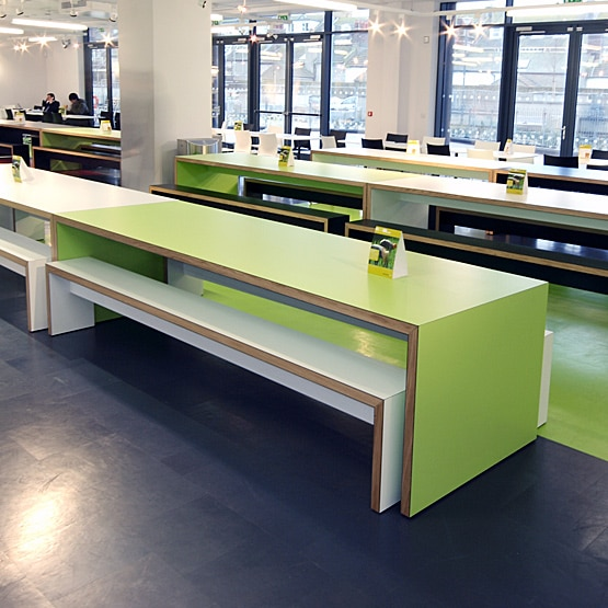 What colours does canteen furniture come in?