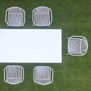 What colours work best on outdoor furniture?